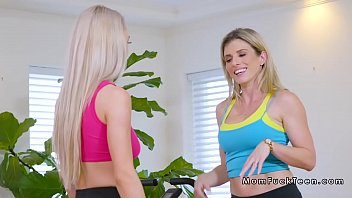 cougar step-mother and teenager in three-way