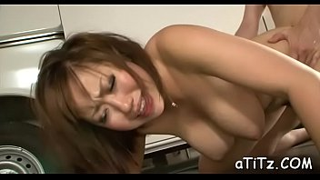 Sultry japanese arouses with oral-sex and tits fucking