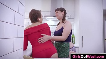 unshaved and trimmed sapphic amateurs eat.